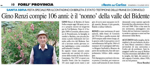 [C-FOR - 10] CARLINO/GIORNALE/FOR/10 ... 12/07/15