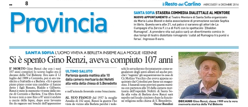 [C-FOR - 8] CARLINO/GIORNALE/FOR/08 ... 14/12/16