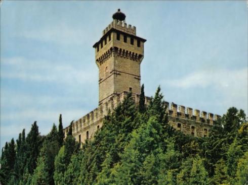 Rocca delle Caminate. Forlì (Romagna)