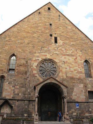 6 - Duomo di Bolzano facciata-
