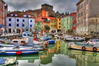 6- Trieste - Muggia, porticciolo