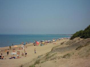 16 Sabaudia camping spiaggia-antistante