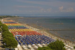 21 - Spiaggia a grado e Lignano Sabbiadoro