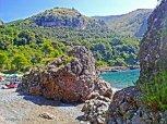 27 - Maratea-Acquafredda- il fascino delle scogliere ed il profumo del mare.