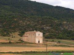 55- Caporciano- la chiesa di S. Maria dè Centurelli (XVI sec.), tra il tratturo principale L'Aquila-Altopiano delle Cinquemiglia- e il tratturo secondario L'Aquila-Centure
