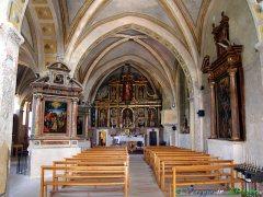 54- Castelvecchio Calvisio (1.045 m. s.l.m., circa 200 abitanti), nel Parco Nazionale del Gran Sasso-Monti della Laga la chiesa medievale di S. Giovanni Battista.