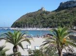 44- Cagliari palme e mare