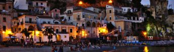 46 - Cetara- tramonto-Costiera amalfitana