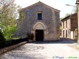 52- -Fossa-l'antica chiesa di S. Maria ad Cryptas (XIII sec.). L'interno è decorato da uno dei più importanti cicli pittorici del Duecento abruzzese.