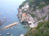 86 - Prov. di salerno-Conca dei Marini- il borgo marinaro