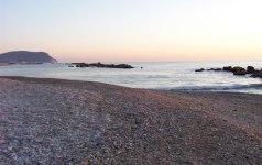 86 - Porto Recanati - alba sulla spiaggia