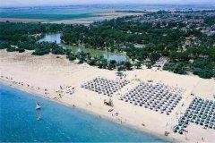 96 - Prov. di Cosenza - Sibari-spiaggia-vista-dall'alto-