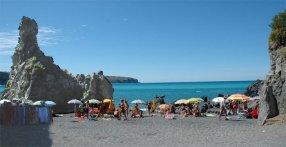 9- Prov. Cosenza - Praia a mare- La spiaggia di Fiuzzi