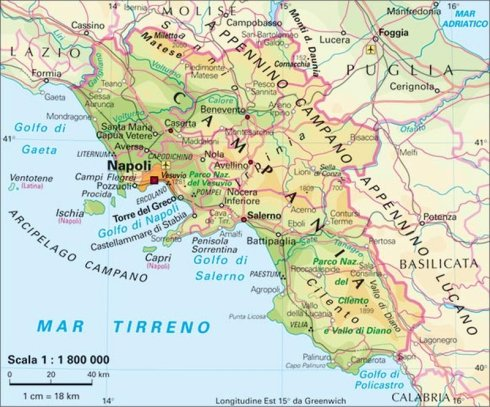 Regione. Campania