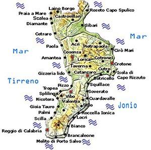 Località Balneari della Calabria