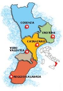 Province della Calabria