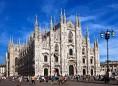28- Milano- facciata.del Duomo simbolo della città.