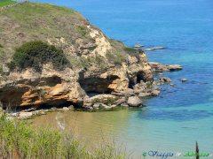 10 - Punta Aderci. La scogliera , Riserva Naturale Marina.