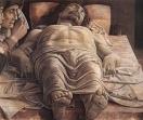 48 - Milano- Pinacoteca di Brera- Cristo morto, Andrea Mantegna, 1470-75