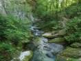 22- Un angolo della selvaggia Riserva Natuirale della Valle dell'Orfento, nel Parco Nazionale della Majella.