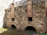 23- Civitella del Tronto- I resti del Panificio all'interno della storica fortezza.