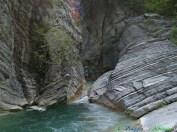 26- Civitella del Tronto-La Riserva Naturale delle Gole del Salinello, in territorio Il canyon nel quale scorre il fiume è tra i più selvaggi e spettacolari d'Abruzzo.