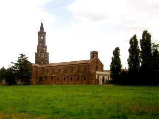 105- Milano l'Abbazia di Chiaravalle,