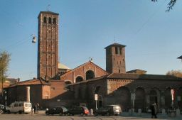 59 -Milano- Basilica Santambrogio