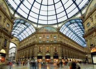 34 - Milano, interno Galleria-Vittorio-Emanuele II.