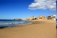 41- Ragusa La spiaggia di Motalbano di Punta secca
