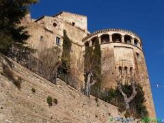 47- Montefino- il castello Acquaviva.