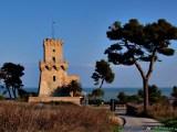 48- Pineto- la suggestiva Torre di Cerrano (XVI sec.), uno dei principali simboli della costa abruzzese.