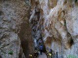 6- Fara San Martino, la strettissima gola di S. Martino, che conduce nello spettacolare Vallone di S. Spirito.