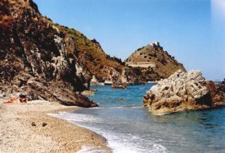 6- Messina capo d'orlando scogli