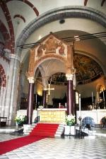 62 -Milano.Sant' Ambrogio-L'altare maggiore e il ciborio