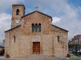 7- Civitaquana- l'antica chiesa romanica di S. Maria delle Grazie (XII sec.), Monumento Nazionale.