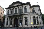 92 -Milano-Palazzo_Sormani-Andreani_-Facciata della Biblioteca centrale Comunale di Palazzo Sormani Corso di Porta Vittoria.