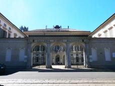 72 -Milano. Galleria d'arte moderna- L'ingresso in via Palestro