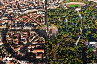 5 -Piazza Sempione e l'arco.