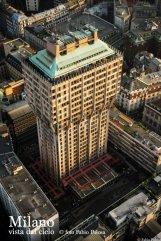 21-Milano. La torre Velasca vista dall'alto