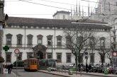 91 -Milano. Il Palazzo Arcivescovile in piazza Fontana