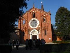 112 -Milano. L' Abbazia di Viboldone, facciata