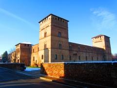25 - Lodi- Comune di Pandìno Miniere di quarzo e Castello Visconteo - dove si svolgono diverse manifestazioni-