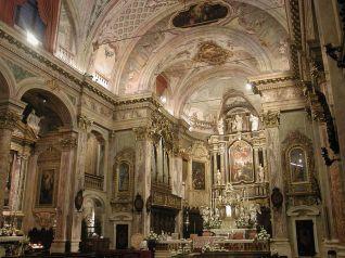 30 -Clusone_basilica_interno