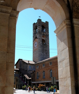 4- Brgamo- Il campanone o torre civica