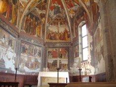 13 - Trento- Chiesa di San Vigilio- Interno della Chiesa di San Vigilio
