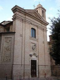 26-Perugia. Chiesa e cappella di San Severo