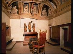 26 - Trento -Interno del castello del Buonconsiglio, dove subirono il martirio nel 1916 i patrioti ...