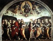29- Perugia. Interno.Chiesa e cappella di San Severo
