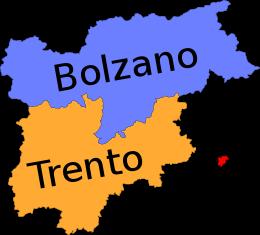 province del trentino